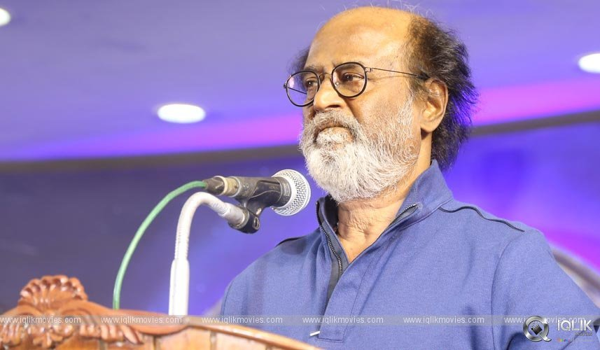 Rajinikanth About Political Announcement