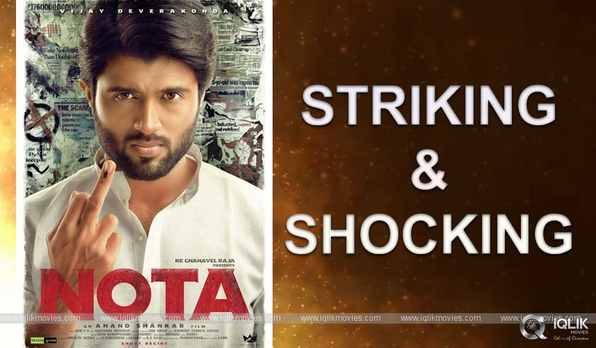 Vijay Deverakonda Film Titled As NOTA