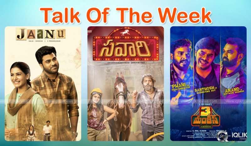 Talk Of The Week Jaanu Savari Three Monkeys