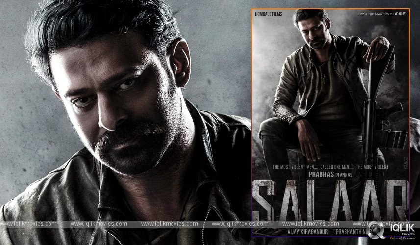 Prabhas Prashanth Neel Movie Titled Salaar