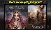 Padmavati Movie First Look Details