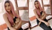Adah Sharma Photo With Cat