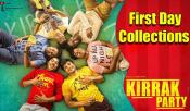 Kirrak Party Telugu Movie First Day Collections