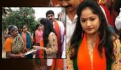 madhavi latha contest as bjp assembly candidate from guntur west
