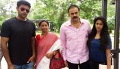 Naga Babu Family Into Election Canvassing