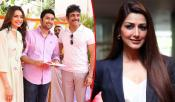 sonali bendre guest appearence in manmadhudu 2