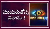 Bigg Boss 3 Telugu Contraversy