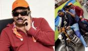 RGV Fined For Triple Riding By Hyderabad Traffic Police