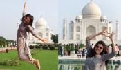 Kajal Love For Taj Mahal