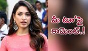 Tamannaah Me Too Comments