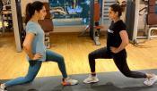 Upasana Gym Session With Sania Mirza