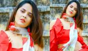 Anasuya Hot In Red