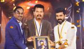 Ram Charan Received Behindwoods Award From Shankar