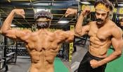 Actor Arya Recent Body Building Pics