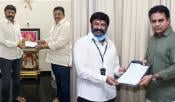 Balakrishna Donation To Fight Covid19