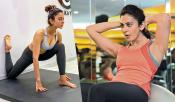 Rakul Preet Singh Yoga Gym Video