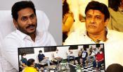 YS Jagan Tollywood Meeting Without Balakrishna
