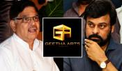 Is Chiranjeevi Not Working With Geeta Arts Banner
