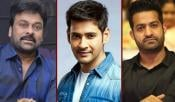 Chiru Mahesh NTR Tollywood Heros Donate To CM Relief Fund