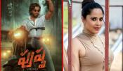 Anasuya In Pushpa
